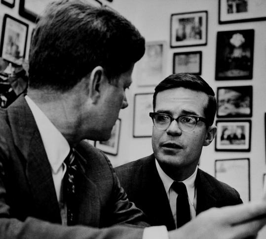 Theodore Sorensen and John F. Kennedy